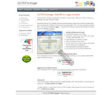 123 PDF to Image Professional Edition Full Version preview. Click for more details