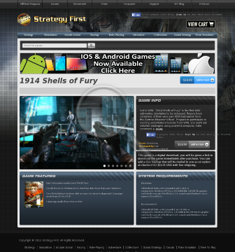 1914 Shells of Fury Full Version preview. Click for more details