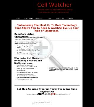 2015 CellSpySoftware New Version Plus Bonuses! Full Version  You will be forwarded to the Instant Download Page Immediately Upon Checkout. preview. Click for more details