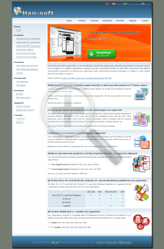 2D Barcode FMX Components  Site license preview. Click for more details