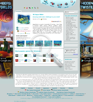 3D Aqua Slider  Full Version(Windows) preview. Click for more details
