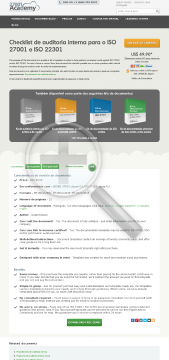 Anexo 3 – Checklist de Auditoria Interna PT (standard version) preview. Click for more details