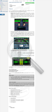 Audio Sound Suite API for .NET Commercial edition  Discount for customers preview. Click for more details
