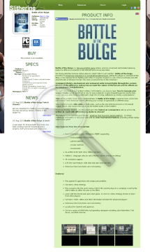 Battle of the Bulge PC Physical with Free Download preview. Click for more details