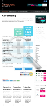Best Crowdfunding Websites Sponsored Article preview. Click for more details