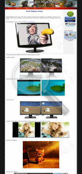 BioniX Wallpaper Changer Enterprise Site edition v10 preview. Click for more details