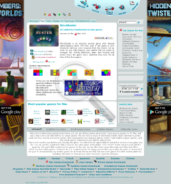 Blockbuster for Macintosh (Discount) Full Version preview. Click for more details