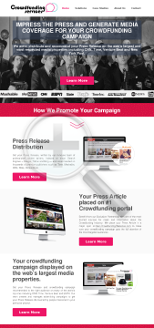 Crowdfunding PR Full Version preview. Click for more details