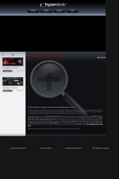 Darkmatter: RedShift Vista Theme preview. Click for more details