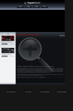 Darkmatter: RedShift Win 7 Theme preview. Click for more details