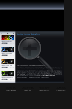 Darkmatter: Subspace Vista Theme preview. Click for more details