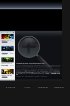 Darkmatter: Subspace XP Theme preview. Click for more details