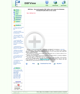 DBFView Single Business License preview. Click for more details