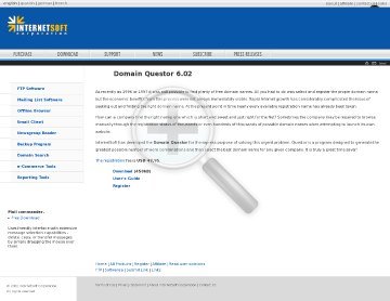 Domain Quester Full Version preview. Click for more details