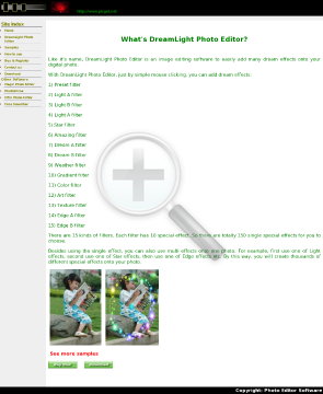 Dreamlight Photo Editor Dreamlight discount preview. Click for more details