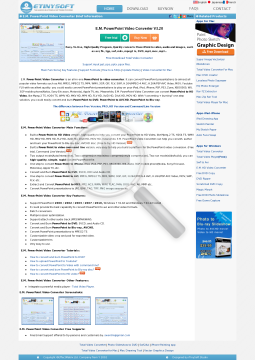 E.M. PowerPoint Video Converter Pro Version (For Personal Use) preview. Click for more details
