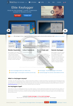 Elite Keylogger (PRO edition) 2 компьютера preview. Click for more details
