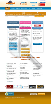 Email Marketing Products & Services by GorillaContact Full Version preview. Click for more details