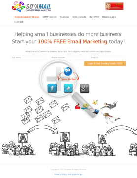 Email Marketing Products & Services Full Version preview. Click for more details