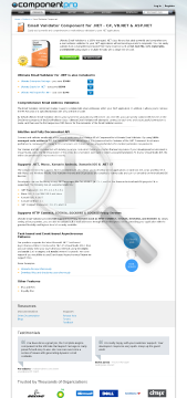 Email Validator for .NET Early Renewal  Standard Version, for 1 Company, No Source Code, 1 Year Subscription preview. Click for more details