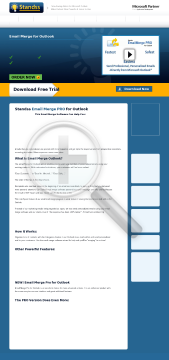 EmailMerge for Outlook EmailMerge/InsertText Bundle preview. Click for more details