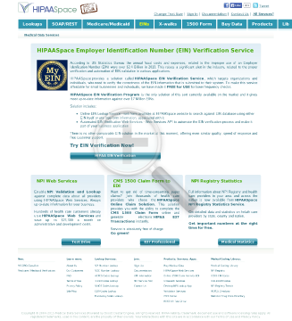 Employer Identification Number Online Access preview. Click for more details