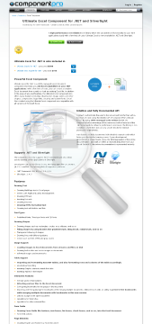 Excel Component for .NET Late Renewal  Standard Version, for 1 Developer, No Source Code, 1 Year Subscription preview. Click for more details