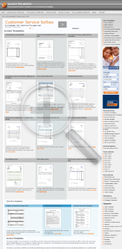 Excel Services invoice with tax calculation: Full Version preview. Click for more details