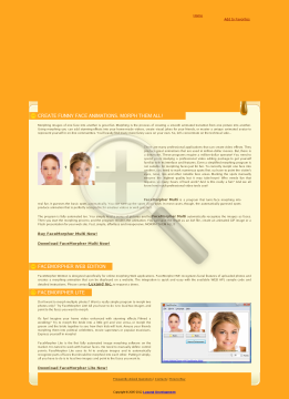 FaceMorpher Site License preview. Click for more details
