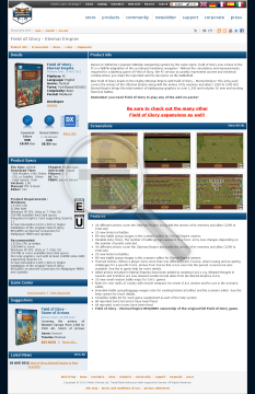 Field of Glory  Eternal Empire Physical with Free Download preview. Click for more details