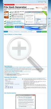 File Hash Generator 5 Full Version preview. Click for more details