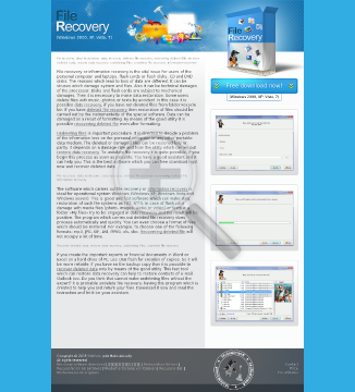 File Recovery Personal license preview. Click for more details