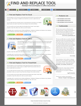 Find and Replace Tool For Word 51% Discount preview. Click for more details