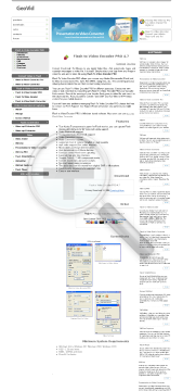 Flash To Video Encoder PRO One License preview. Click for more details