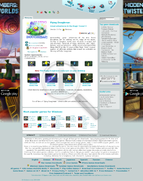 Flying Doughman  Full Version(Windows) preview. Click for more details