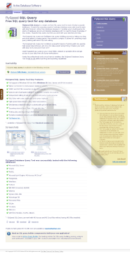 FlySpeed SQL Query Portable version with Lifetime subscription preview. Click for more details