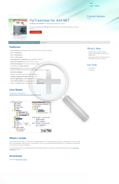 FlyTreeView for ASP.NET Single Domain License preview. Click for more details