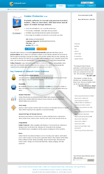 Folder Protector Enterprise (Unlimited PCs, 1 Year) preview. Click for more details