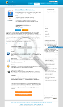 Folder Protector SingleUser License (1 PC, 1 Year) preview. Click for more details