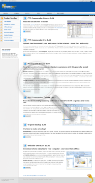FTP Commander Deluxe + Scheduler Full Version preview. Click for more details