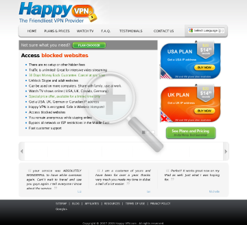German Happy VPN Biannual German Happy VPN plan  discounted $89.99 preview. Click for more details