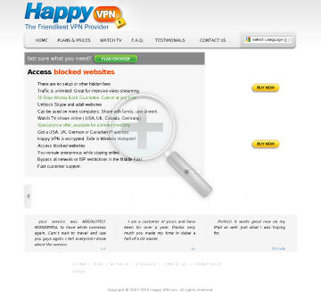 German Happy VPN Biannual German Happy VPN plan  discounted preview. Click for more details