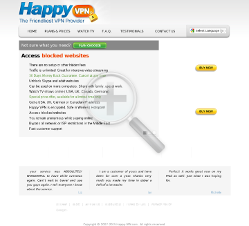 German Happy VPN Monthly German Happy VPN plan  discounted preview. Click for more details