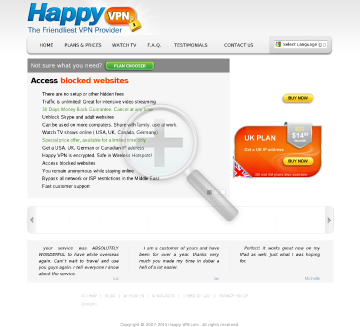 German Happy VPN Quarterly German Happy VPN plan preview. Click for more details