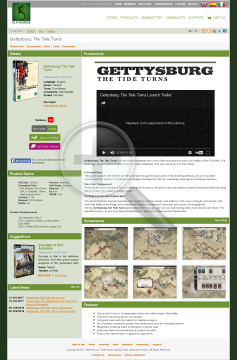 Gettysburg: The Tide Turns Download preview. Click for more details