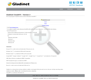 Gladinet CloudAFS Monthly Subscription of 100 connection licenses preview. Click for more details