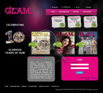 Glam Magazine February 2014 Full Version preview. Click for more details
