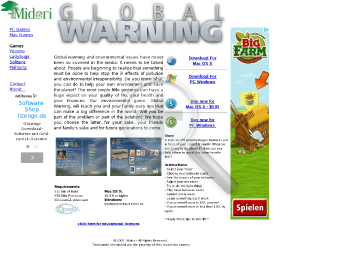Global warning for Mac OS X preview. Click for more details