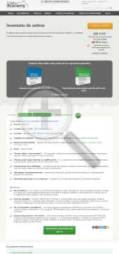 Inventario de activos ES (standard version) preview. Click for more details
