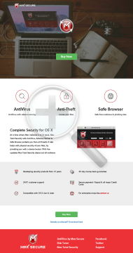 Mac Total Security 1 user 3 yr. preview. Click for more details